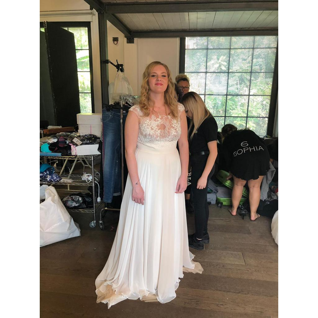 Giulia Grazioli. Backstage Calendario Beautiful Curvy 2019