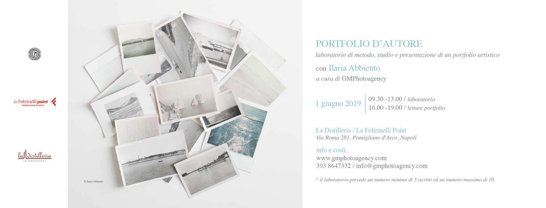 Portfolio D'Autore con Ilaria Abbiento